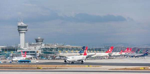 Atatürk Havalimanı'nda leylek alarmı