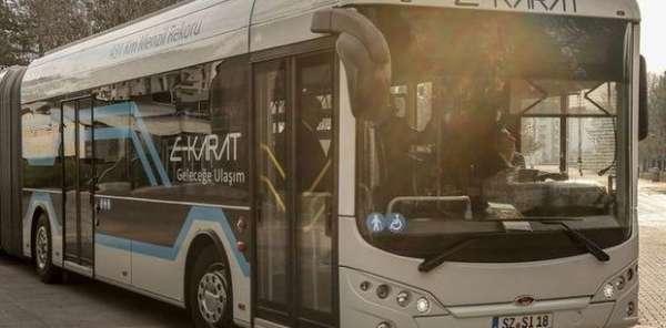 Karsan elektrikli otobüs üretecek