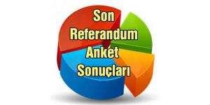 Referandum anket sonuçları: 16 Nisan'da evet mi çıkacak hayır mı?