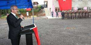 Başkan Köşker'den Özel Harekat'a Tesis Desteği
