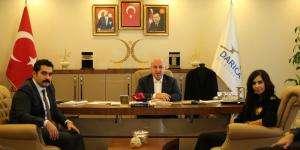 Başkan Bıyık, Emniyet müdürünü ağırladı