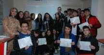 Özel İvme Fen Lisesi Öğrencileri karnelerini aldı