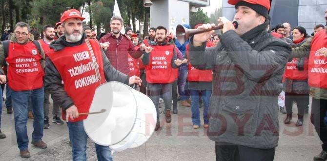 Metal işçileri istekleri karşılanmazsa 5 Şubat'ta greve çıkacak