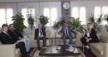 Tümkiad Adana İl Başkanı Mehmet Ayıcı ve üyelerin'den Adana Ticaret Odası Başkanı Sayın Atilla Menevşe'ye ziyaret.