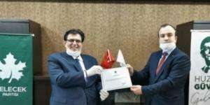 Gelecek Partisi İzmit İlçe Başkanı açıklandı