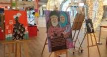 Gebze Sanat Kişisel Gelişim Kursu'nun (Gebze Sanat Akademisi) Gebze   Center'da Gözleri Büyüleyen Resim Sergisi