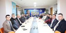 Başkan Bıyık'tan Cumhur İttifakı ziyareti