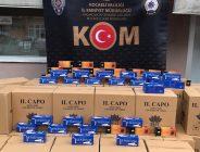 Kaçak Makaron Piyasaya Sürülmek Üzereyken Yakalandı