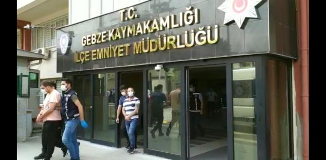 Gebze'de Akılalmaz Hırsızlık Olayı