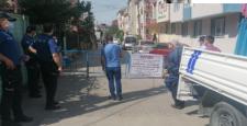 Gebze'de Gaziler Mahallesi Karantinaya Alındı.