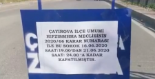 Çayırova'da Bir Sokak Karantinaya Alındı