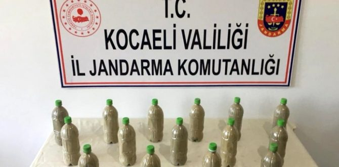 Uyuşturucu Tacirlerine Narkotik Köpeğinden Ağır Darbe
