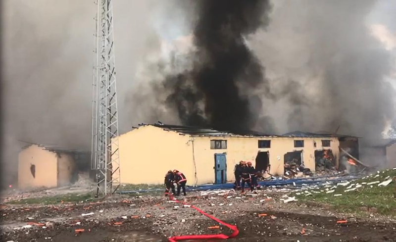 Sakarya'daki Havai Fişek Fabrikasında ki Patlama İle İlgili Açıklama