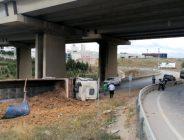 Gebze'de Faciası Tır Kazası