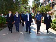 İl Emniyet Müdürü Sayın Veysel TİPİOĞLU'nun Corona ile ilgili İzmit ilçesinde denetlemelerde bulundu