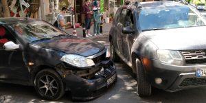 Darıca Cumhuriyet Meydanında Kaza