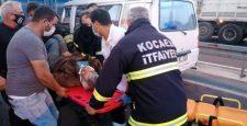 Gebze D 100 Karayolunda Trafik Kazası