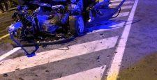 Eskihisar Feribot Yolunda Kaza 1 Ölü 4 Yaralı