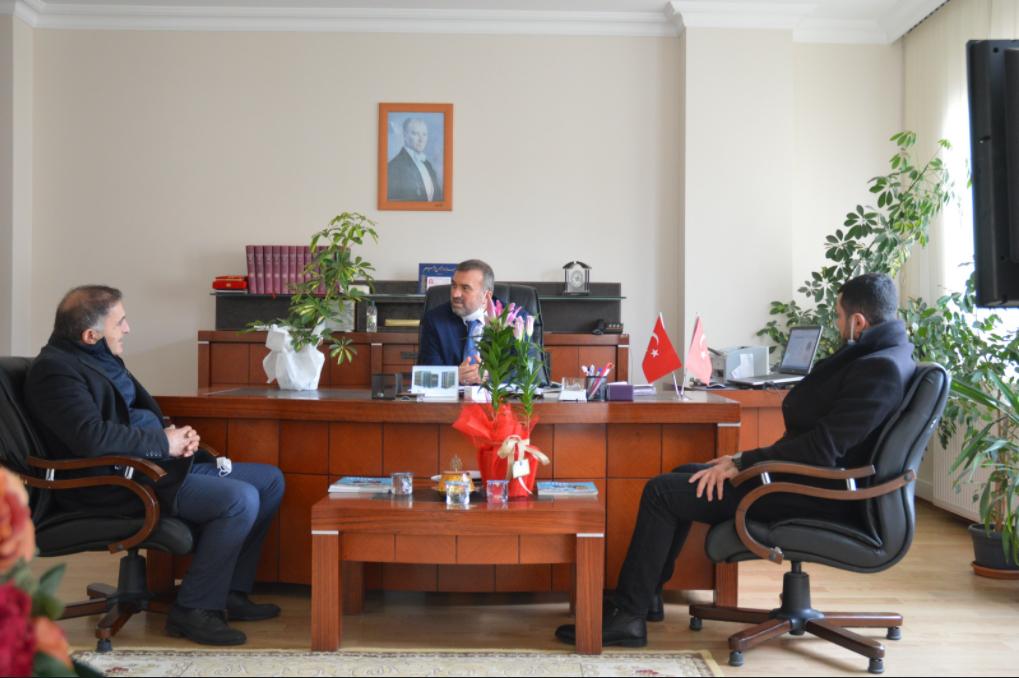 CHP'li meclis üyelerinden yeni müftüye ziyaret